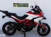 Ducati multistrada 1200 s pikes peak gasolina cor vermelho
