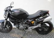 Ducati monster 696 gasolina cor preto