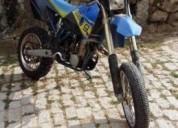 Husaberg 06 impecavel extras gasolina cor azul