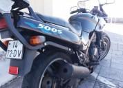 Kawasaki gpz gasolina cor preto