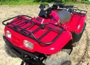 Moto 4 kawasaki 4x4 gasolina cor vermelho