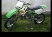 Vendo kawasaki kdx 125 matriculada gasolina cor verde
