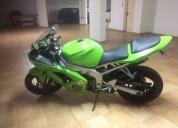 Kawasaki ninja 636 escape leovinci g p style fato dainese completo en portimão