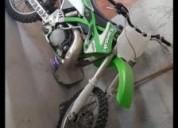 Kawasaki 250 2t gasolina cor verde