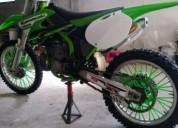 Kawasaki kx 250 02 gasolina cor verde