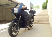 Bmw k 100 rs 16v gasolina cor azul