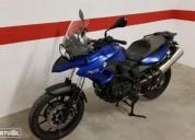 Bmw f 700 gs gasolina cor azul