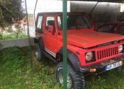 Suzuki samurai gasolina cor vermelho