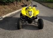 Suzuki ltz 400 gasolina cor amarelo