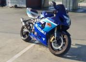 Suzuki gsxr 600 k5 gasolina cor azul