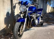 Bandit 600 gasolina cor azul