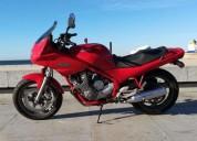 Yamaha xj diversion gasolina cor vermelho