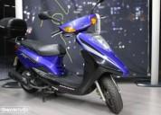 Yamaha cygnus cygnus rs gasolina cor azul