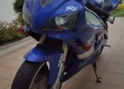 Yamaha yzf r1 gasolina cor azul