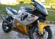 Yamaha yzf 600 r thundercat gasolina cor cinzento