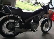 Yamaha sr 125 cor preto