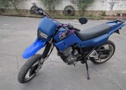 Yamaha xt 600 cor azul