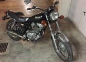 Yamaha sr 250 gasolina cor preto