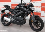 Yamaha mt 125 abs gasolina cor preto