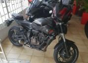 Yamaha mt 07 abs gasolina cor preto