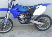 Yamaha yzf 250 4t 2005 gasolina cor azul