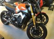 Yamaha mt 09 gasolina