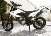 Yamaha wr 125 x gasolina cor branco