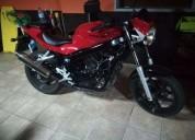 Hyosung gt 125 gasolina cor vermelho