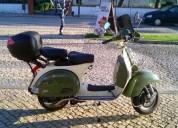 Vendo lml bicolor 200 4 t de luxo gasolina cor verde