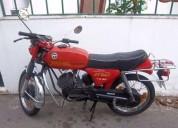Famel ks 50 gasolina cor vermelho