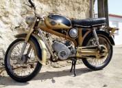 Famel foguetao m61 50 cc 3v de 1966 gasolina cor amarelo