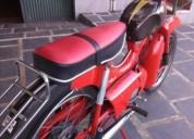 Venda de motorizada gasolina cor vermelho
