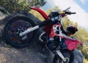 Gasgas ec 250 matricula gasolina cor vermelho