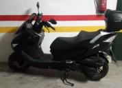 Scooter daelim s3 125 gasolina cor preto
