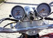 venda de moto 125 cc daelim gasolina cor vermelho
