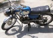 Motorizada macal m70 turismo gasolina cor azul