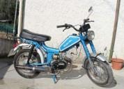 Moto motorizada antiga casal mayal 2v gasolina