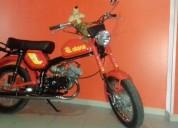 Casal diana motoc 50 e cilindro gasolina cor vermelho