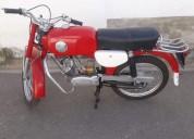 Casal velocette ano 1980 gasolina cor vermelho