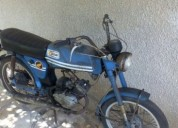 motorizada casal gasolina cor azul