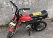 Mini puch efs motoesa gasolina cor vermelho