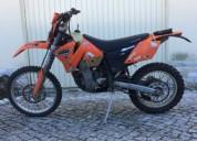 Ktm 400 exc 2002 matriculada com extras gasolina