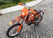Ktm 450 exc 2005 gasolina cor laranja