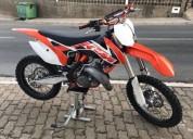 Ktm 125 sx gasolina cor laranja