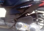 Aprilia 125 sporcity gasolina cor preto