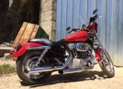 Harley davidson 883 cc spotsman cor vermelho