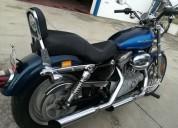 Harley davidson xlh 883 gasolina cor azul