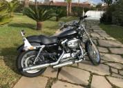 Harley davidson sportster 1200 custom xl gasolina cor preto