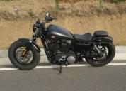 Harley davidson forty eight gasolina cor preto