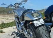Harley davidson vrsca centenario 1903 2003 gasolina cor cinzento